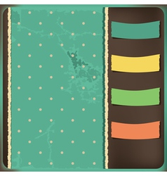 Background with tags vector image vector image