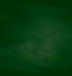 abstract green chalk board background vector image