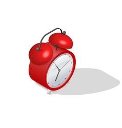 Alarm clock isometric icon vector