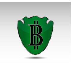 Bitcoin logo vector