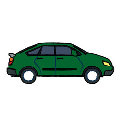 car vehicle transport speed motor image vector image