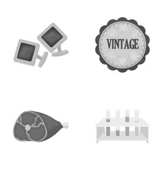 food medicine business and other web icon in vector image