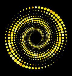 Gold halftone background original unusual vector