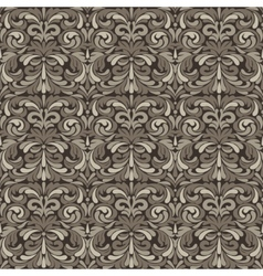 Patina baroque pattern vector image