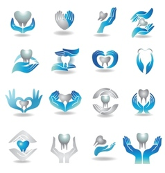 Teeth care vector image