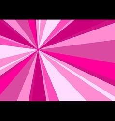 Rays Radius Background Pink vector image vector image