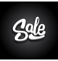 Black Friday Sale Typography Banner Design vector image