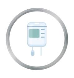 Brop counter icon cartoon Single medicine icon vector image
