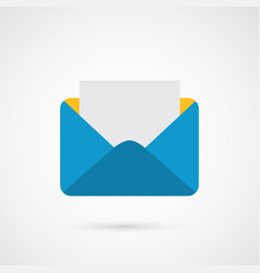 Envelope mail e-mail icon vector
