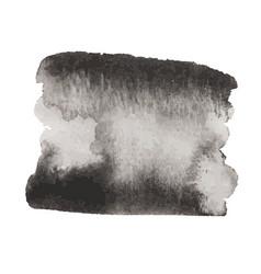 Grunge ink wash splash element vector
