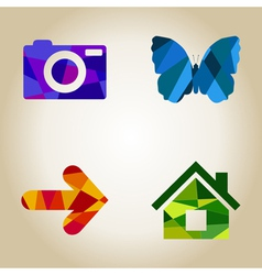 Icons4 vector image