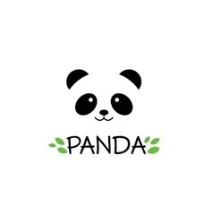 Panda sign Panda logo Panda vector