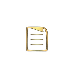 paper document computer symbol vector image