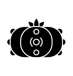 peyote cactus glyph icon vector image