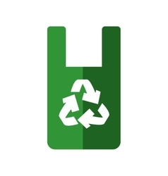 Recycle icon Eco and conservation design vector