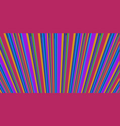 Retro stripes style abstract background eighties vector