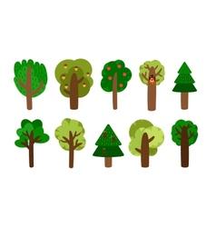 trees clip art vector image