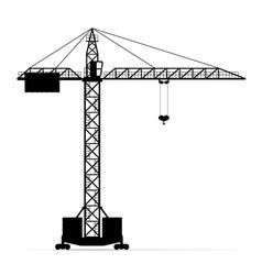 building crane 05 vector image