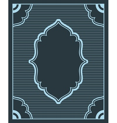 background in retro style with copyspace vector image vector image