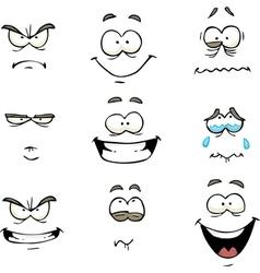 Comics face vector