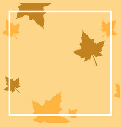Design frame thankgiving theme collection vector