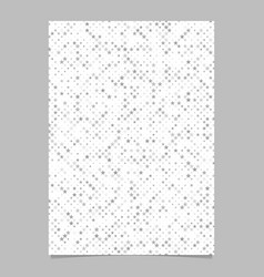 Grey star shape pattern background brochure vector