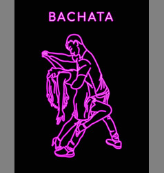 Guy and girl dance latina vector