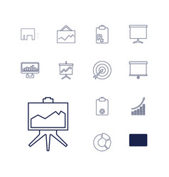 Marketing icons vector