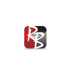 Modern solution letter r b vector