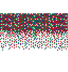 pixel rgb seamless pattern pixel abstract mosaic vector image