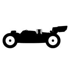Rc nitro buggy vector