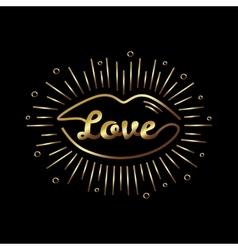 Romantic vector image