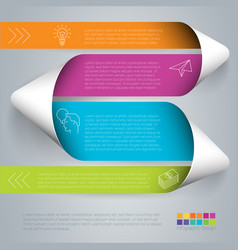 step step template vector image