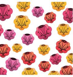 Beauty flower background decoration vector