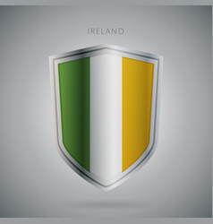 Europe flags series ireland modern icon vector