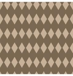 Rhombus geometric seamless pattern vector image vector image