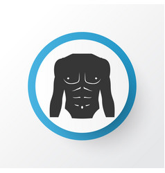 chest icon symbol premium quality isolated vector image