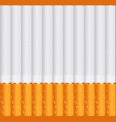 Cigarettes soking background vector