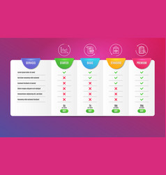 diagram chart online buying and payment card vector image