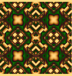 elegant seamless pattern of stained glass or vector image