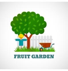 Fruit Garden Poster vector