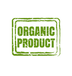 organic product isolated vector image