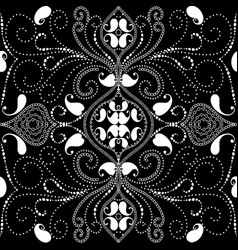ornamental paisley seamless pattern vector image
