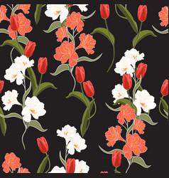 summer freshy trendy wild blooming flower vector image