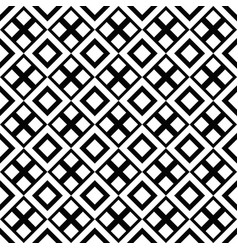 abstract black and white geometrical square vector image