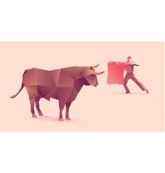 Bullfights vector