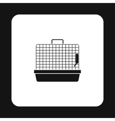 Cage for birds icon simple style vector image vector image