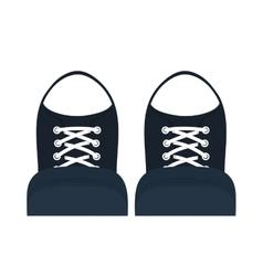 Classic sneakers footwear vector