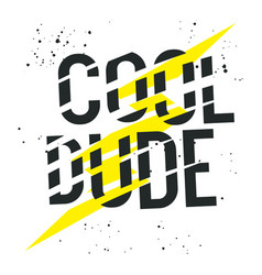 cool dude 001 vector image