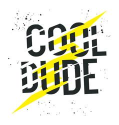 Cool dude 001 vector